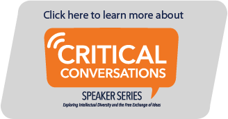 Critical Conversations Speaker Series Learn More Button